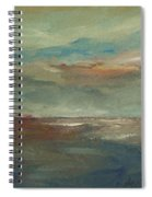 Lake Pontchartrain Sunset Spiral Notebook