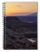 Lake Powell Sunrise  Spiral Notebook
