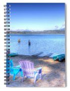 Lake Quinault Dream Spiral Notebook