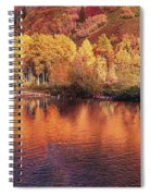 Lake Reflection In Fall 2 Spiral Notebook