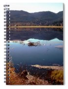 Lake Reflection Spiral Notebook