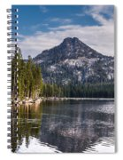 Lake Reflection Spiral Notebook