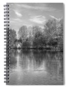 Lake Reflections Mono Spiral Notebook