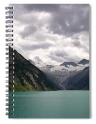 Lake Schlegeis Spiral Notebook