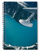 Lake Seen From A Seaplane Spiral Notebook