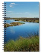 Lake Shelby Daytime  Spiral Notebook