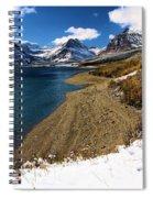 Lake Sherburne Spiral Notebook