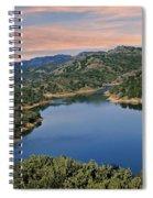 Lake Sonoma - California Spiral Notebook