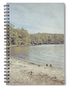 Lake St. Clair In Tasmania Spiral Notebook