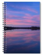 Lake Sunrise Spiral Notebook