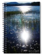 Lake Sunset Spiral Notebook