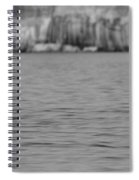 Lake Superior At Pictured Rocks Spiral Notebook