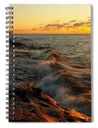 Lake Superior Dawn Spiral Notebook
