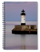 Lake Superior Lighthouse Spiral Notebook