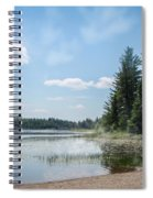 Up North - Lake Superior Misty Beach Spiral Notebook