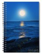 Lake Superior Moonrise Spiral Notebook