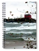 Lake Superior Storm Spiral Notebook