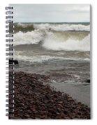 Lake Superior Surf Spiral Notebook