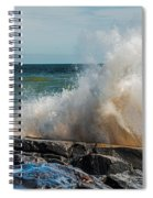 Lake Superior Waves Spiral Notebook