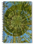Lake Swirl Spiral Notebook