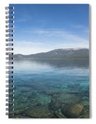 Lake Tahoe Calm Spiral Notebook