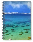 Lake Tahoe Cove Spiral Notebook
