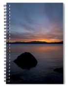 Lake Tahoe Dawn Spiral Notebook