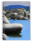Lake Tahoe Rocky Cove Spiral Notebook