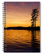 Lake Tahoe Sunset Spiral Notebook
