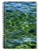 Lake Tahoe Swirls Abstract Spiral Notebook