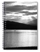Lake Te Anau Spiral Notebook