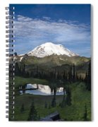 Lake Tipsoo Reflections Spiral Notebook