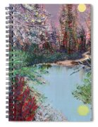 Lake Tranquility Spiral Notebook