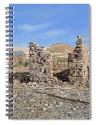 Lake Valley-new Mexico  Spiral Notebook