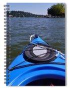 Lake View From Kayak Spiral Notebook
