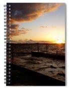 Lake Waconia Sunset Spiral Notebook