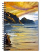 Lake Wahatipu Queenstown Nz Spiral Notebook