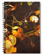 Lake Washington Lily Pad 14 Spiral Notebook