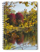 Lake Winona Autumn 15 Spiral Notebook