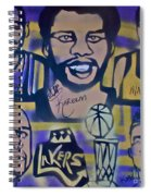 Laker Love Spiral Notebook