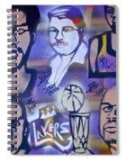 Lakers Love Jerry Buss 2 Spiral Notebook