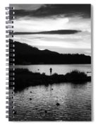 Lakes Of Killarney View Spiral Notebook
