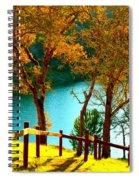 Lakeshore Lane Spiral Notebook