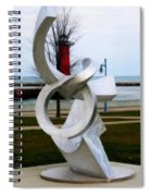 Lakeside Art Spiral Notebook