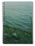Lakeside At Dusk Spiral Notebook