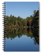 Lakeside Cottage Living - Reflecting On Relaxation Spiral Notebook