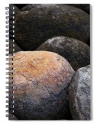 Lakeside Rocks At Lake Annette Spiral Notebook
