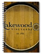 Lakewood Vineyards Spiral Notebook