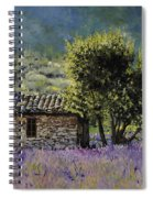 Lala Vanda Spiral Notebook