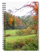Lamance Valley In The Fall Spiral Notebook